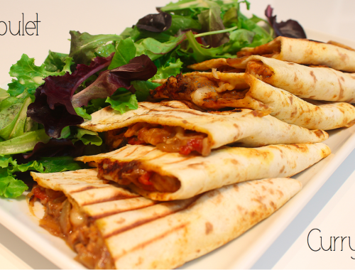 Quesadillas-poulet-curry
