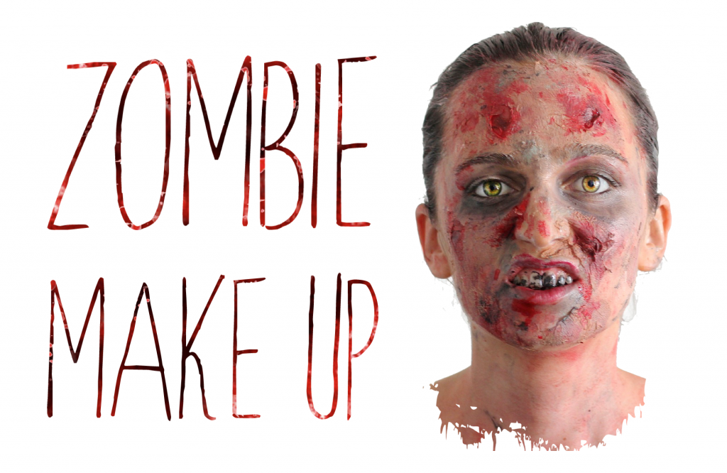 Diy zombie make up a way of travel - Maquillage zombie enfant ...