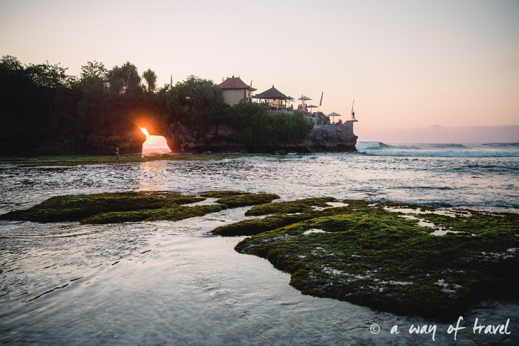 Visit Bali Indonesie Nasi Lembongan secret point sunset