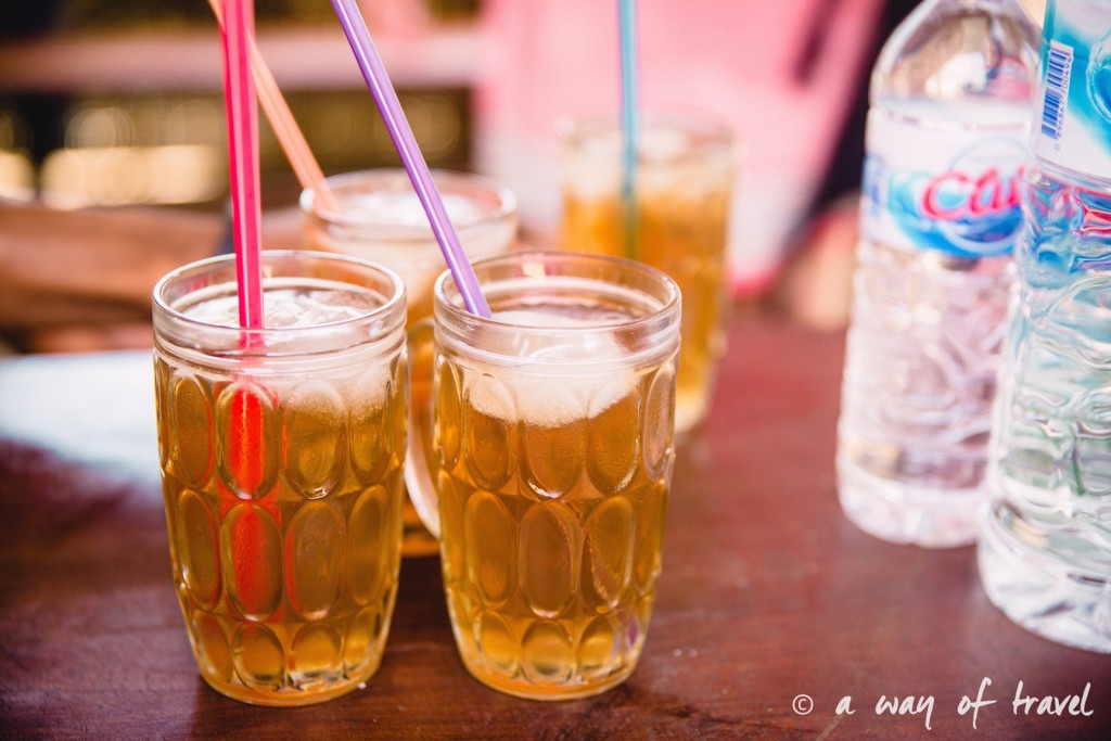 Visit Bali Indonesie Nasi Lembongan the glace ice tea
