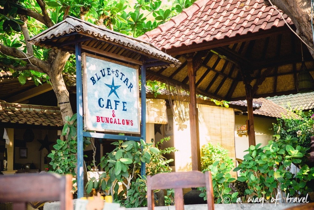 bali visit amed plage beach blue star cafe