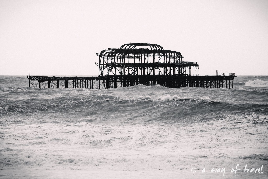 a way of travel blog voyage brighton angleterre visiter a voir 122 west pier
