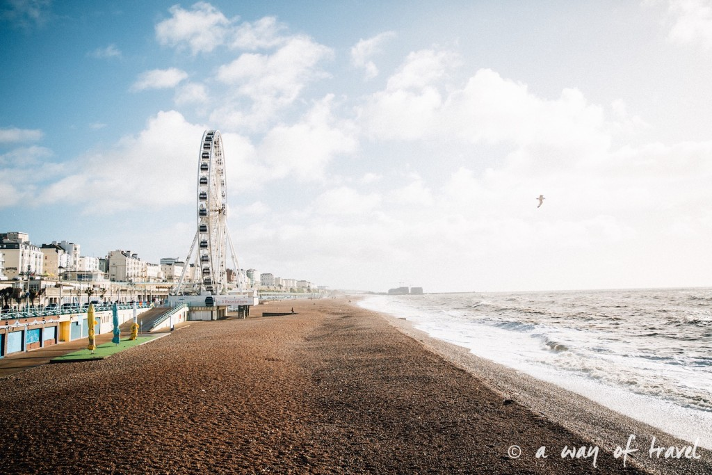a way of travel blog voyage brighton angleterre visiter a voir 83 grande roue plage