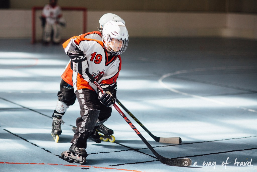 Roller hockey toulouse ramée junior 1