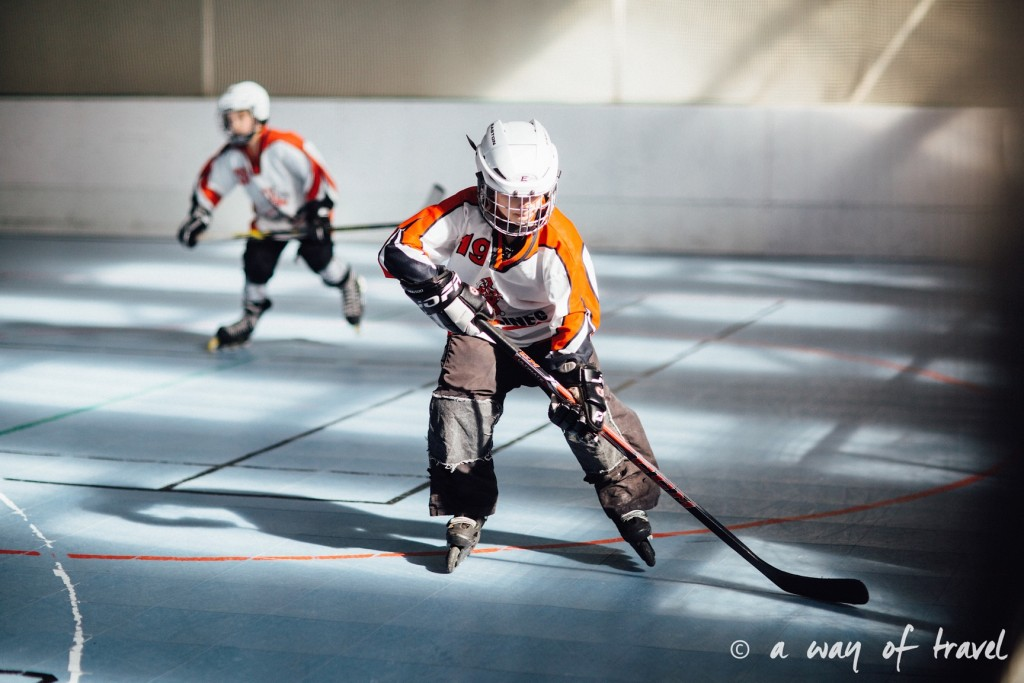 Roller hockey toulouse ramée junior 7