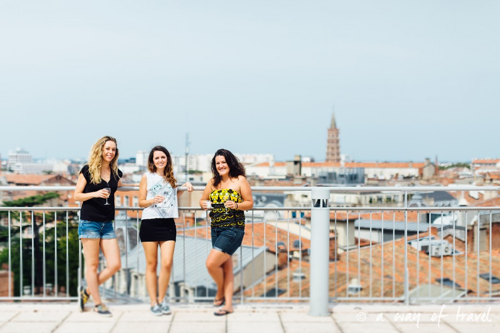 Toulouse rooftop terrasse galeries lafayette brunch plat up 1