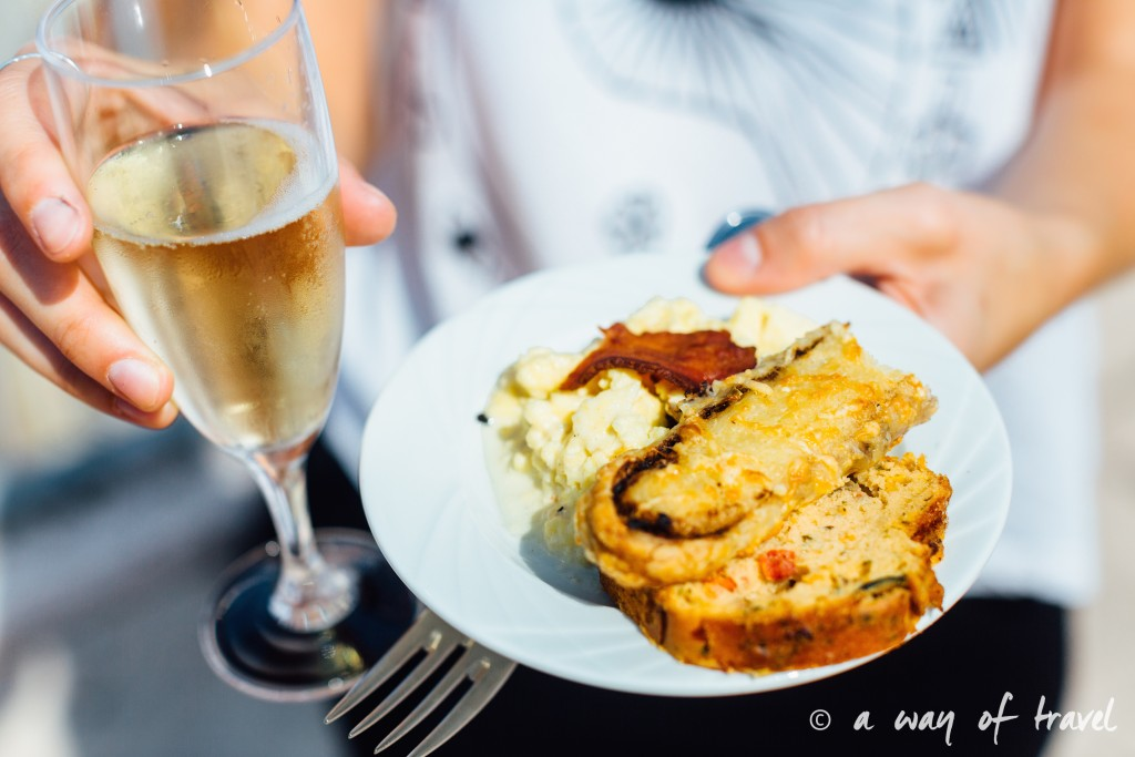 Toulouse rooftop terrasse galeries lafayette brunch plat up 5