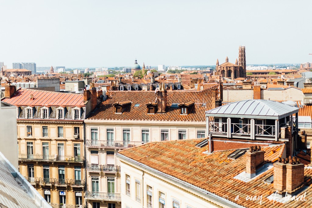 Toulouse rooftop terrasse galeries lafayette brunch plat up 6