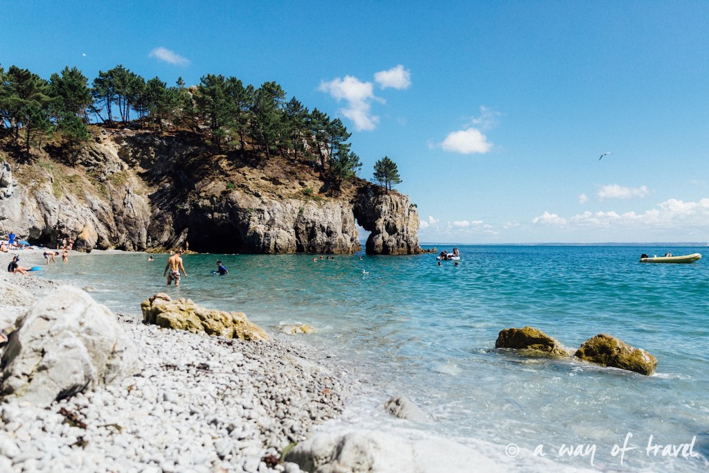 roadtrip bretagne cote bretonne guide plage port morgat-1