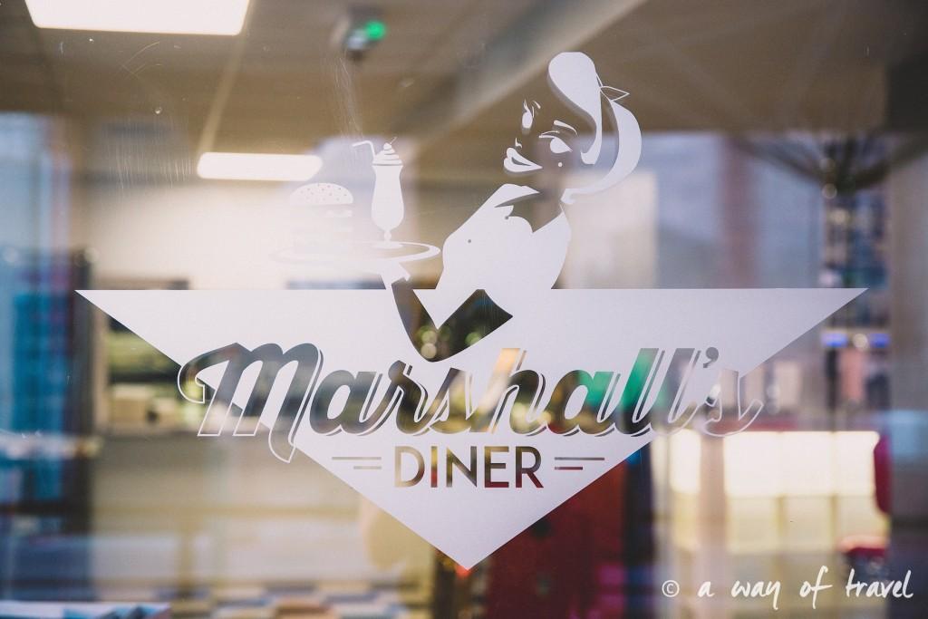 Marshalls diner restaurant 50s toulouse américain saint georges blog yelp cheesecake oreo 1