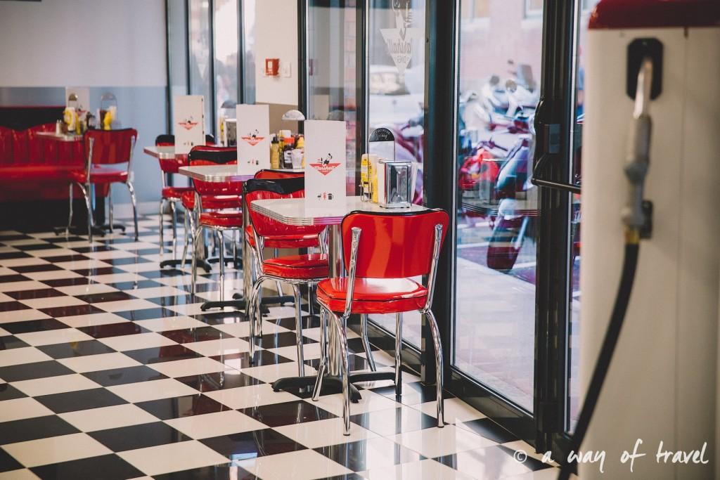 Marshalls diner restaurant 50s toulouse américain saint georges blog yelp cheesecake oreo 10