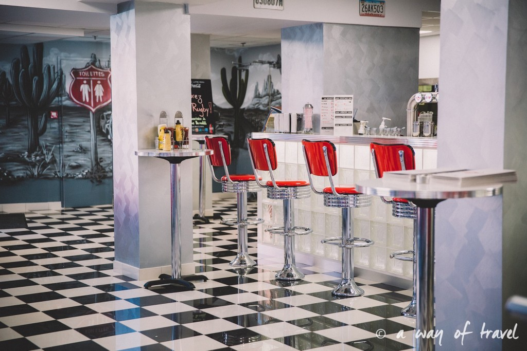 Marshalls diner restaurant 50s toulouse américain saint georges blog yelp cheesecake oreo 3
