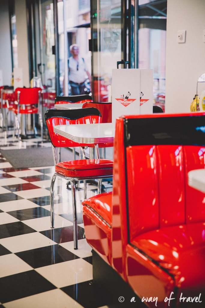 Marshalls diner restaurant 50s toulouse américain saint georges blog yelp cheesecake oreo 7