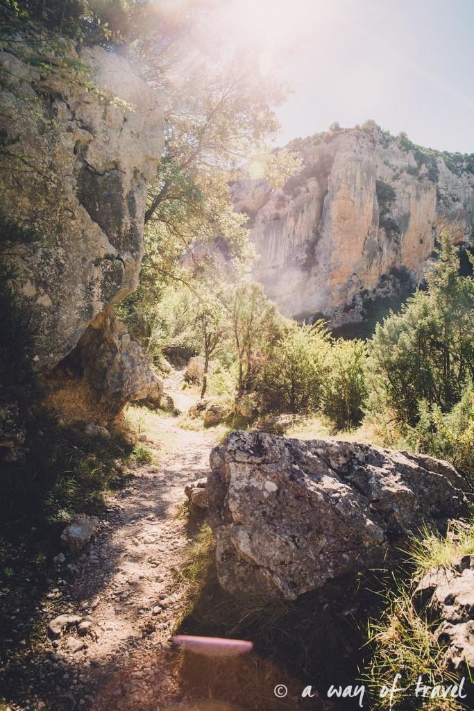 canyon mascun otin sierra de gara espagne randonnée pédestre blog voyage toulouse 2