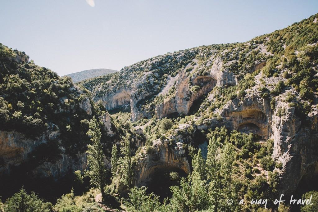 canyon mascun otin sierra de gara espagne randonnée pédestre blog voyage toulouse 3