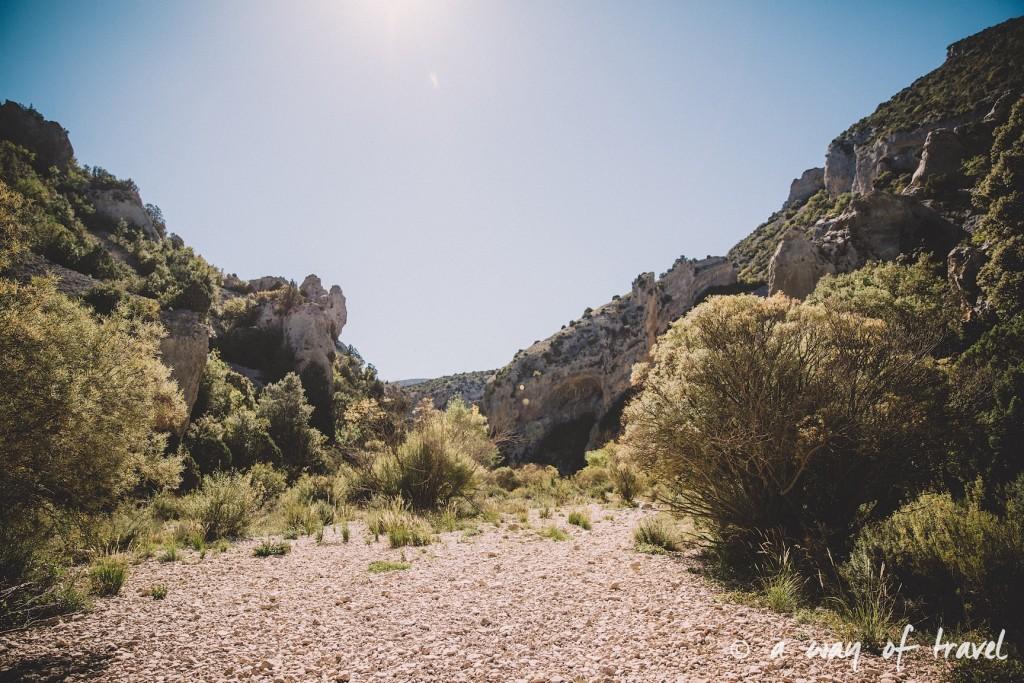 canyon mascun otin sierra de gara espagne randonnée pédestre blog voyage toulouse 5