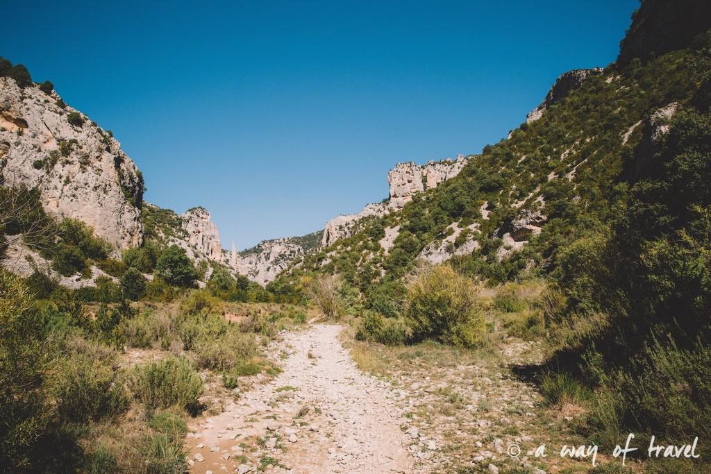 canyon mascun otin sierra de gara espagne randonnée pédestre blog voyage toulouse 7