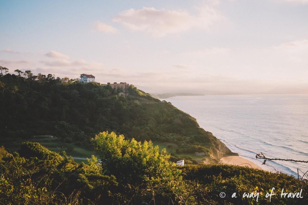 bidart sunset pay basque coucher soleil saint jean de luz baie loyal océan crique guethary blog voyage toulouse 21