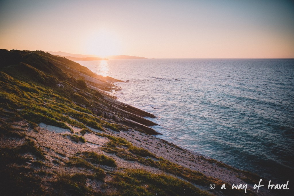 bidart sunset pay basque coucher soleil saint jean de luz baie loyal océan crique guethary blog voyage toulouse 24