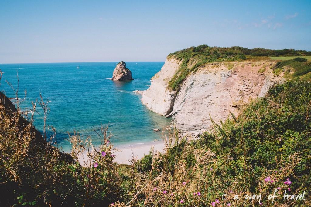 bidart sunset pay basque coucher soleil saint jean de luz baie loyal océan crique guethary blog voyage toulouse 26