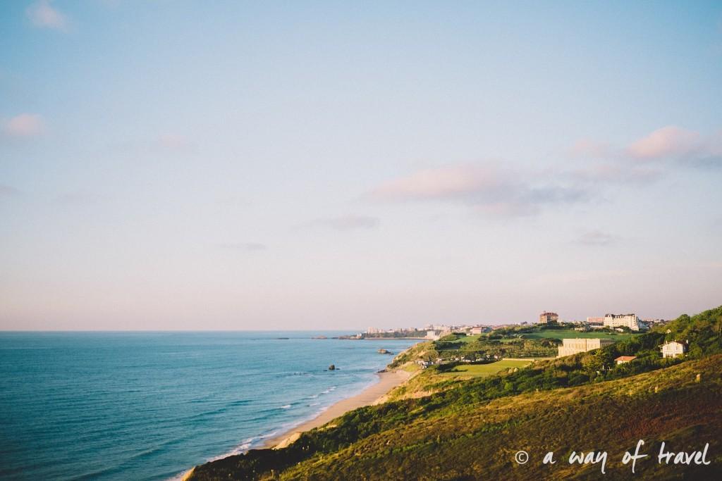bidart sunset pay basque coucher soleil saint jean de luz baie loyal océan crique guethary blog voyage toulouse 27