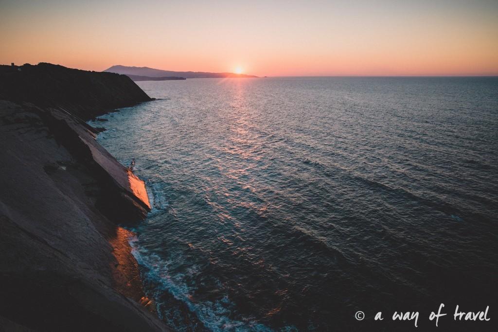 bidart sunset pay basque coucher soleil saint jean de luz baie loyal océan crique guethary blog voyage toulouse 29