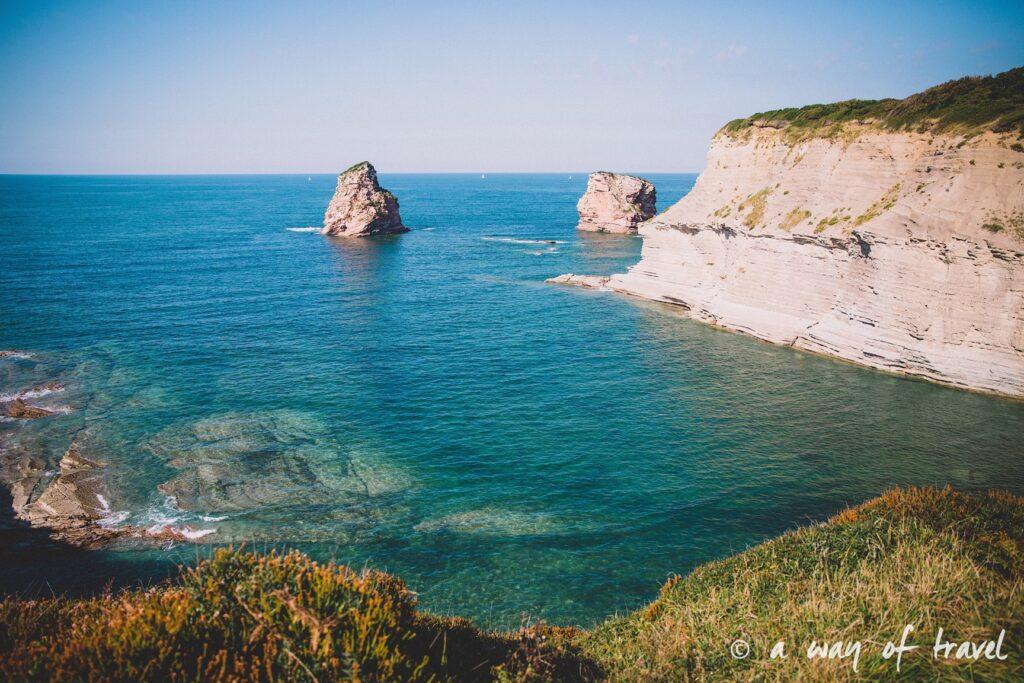 bidart sunset pay basque coucher soleil saint jean de luz baie loyal océan crique guethary blog voyage toulouse 31