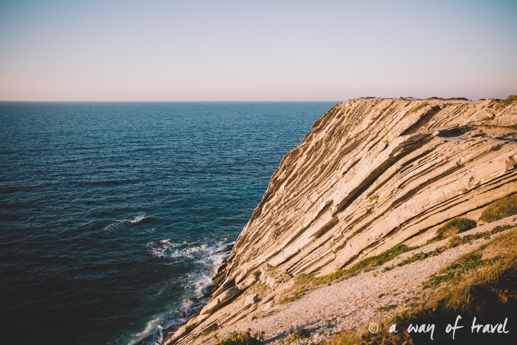 bidart sunset pay basque coucher soleil saint jean de luz baie loyal océan crique guethary blog voyage toulouse 33