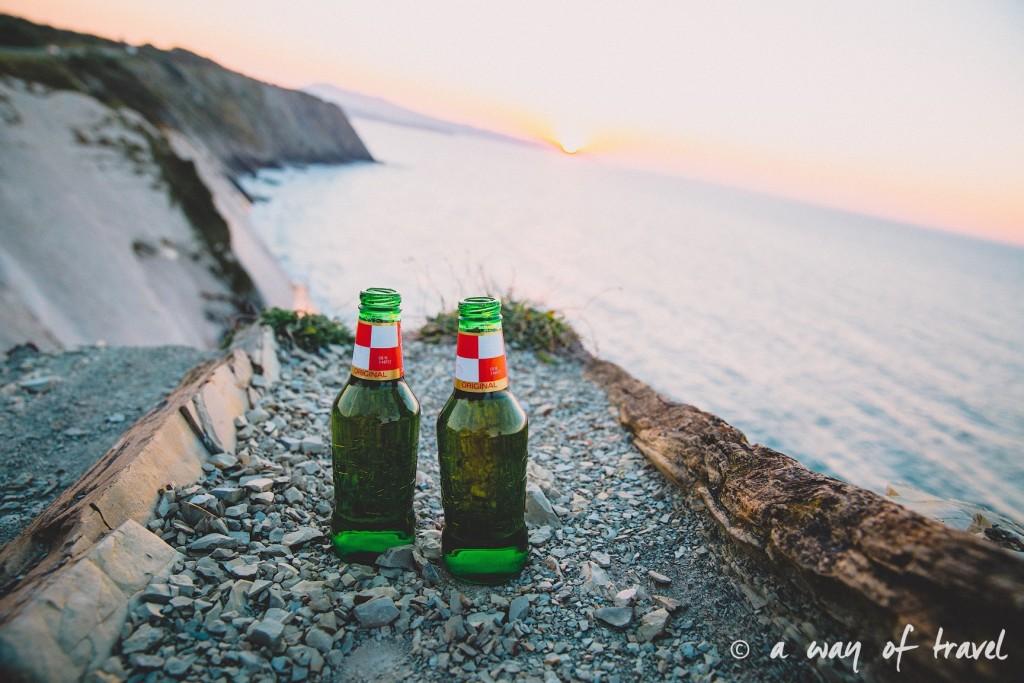 bidart sunset pay basque coucher soleil saint jean de luz baie loyal océan crique guethary blog voyage toulouse 34