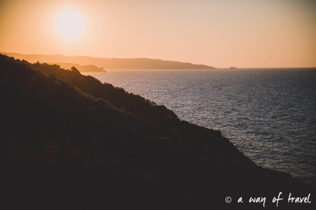bidart sunset pay basque coucher soleil saint jean de luz baie loyal océan crique guethary blog voyage toulouse 7