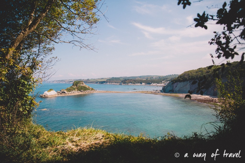 bidart sunset pay basque coucher soleil saint jean de luz baie loyal océan crique guethary blog voyage toulouse 9