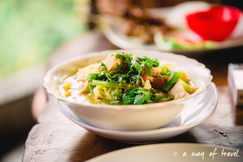 Bali Ubud village restaurant quoi faire idée touristique soup balinese 1