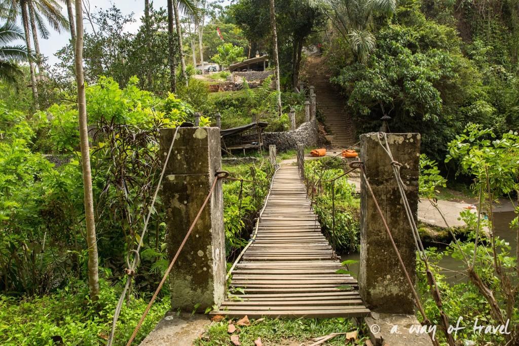 visit Ubud Indonesia Bali quoi faire rizière sana penestanan idée touristique pont