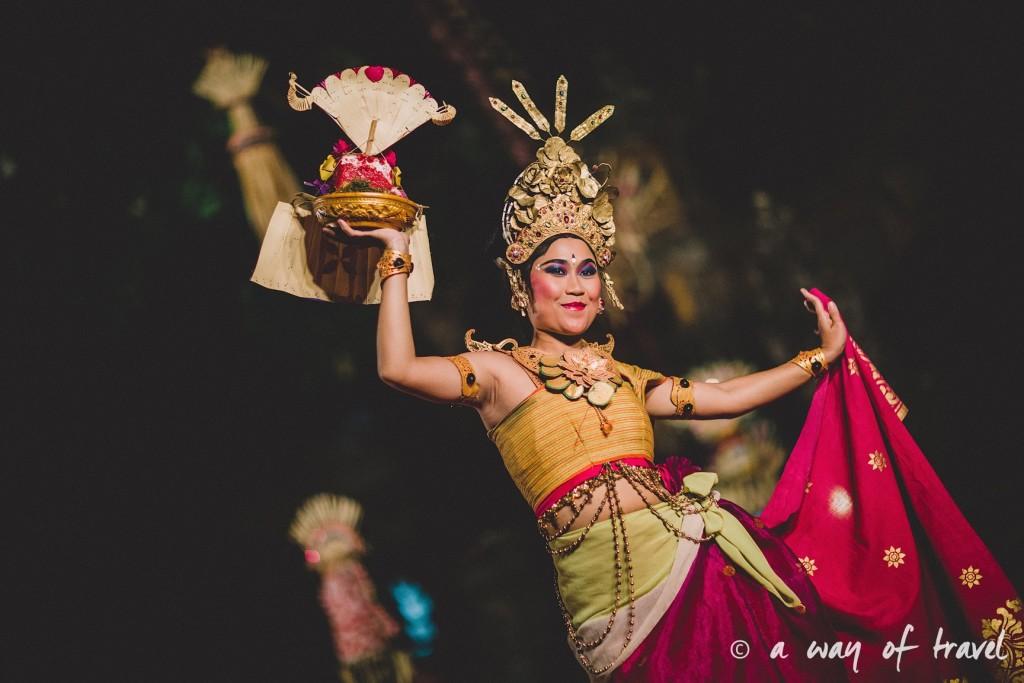 Indonesia Bali quoi faire visit Ubud danseuse balinaise