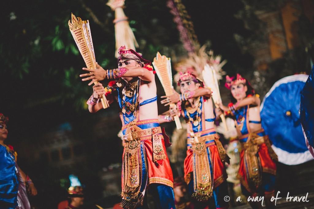Indonesia Bali quoi faire visit Ubud spectacle