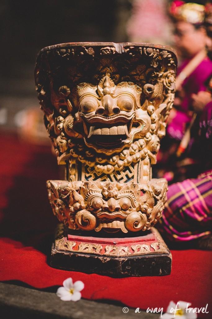 Indonesia Bali quoi faire visit Ubud statue