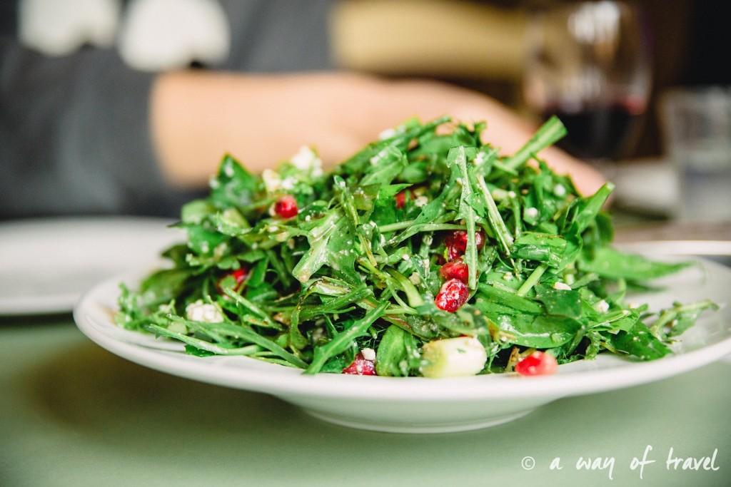 Kritamon restaurant salade Crete-204