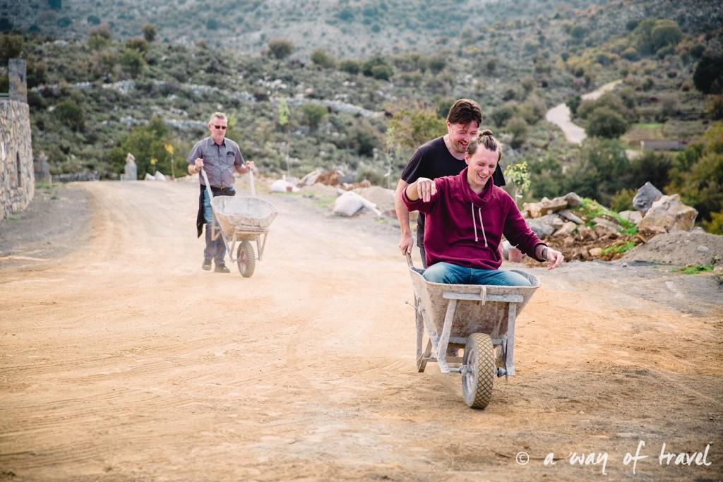 The Shepherd's Shelter Mount Ida course brouettes Crete-131