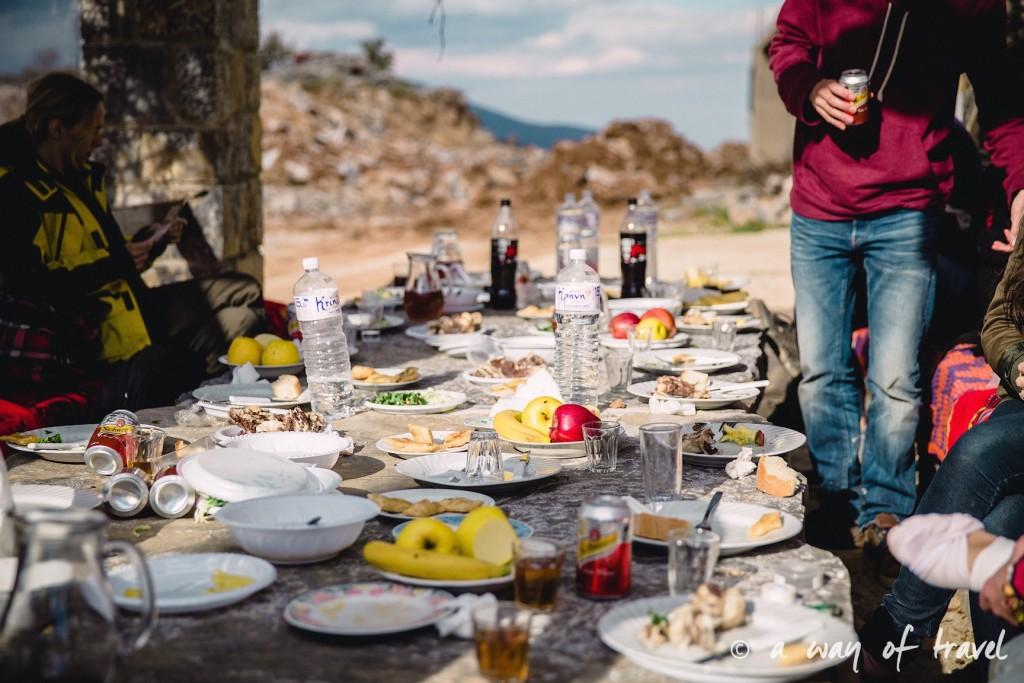 The Shepherd's Shelter Mount Ida repas fromage Crete-152