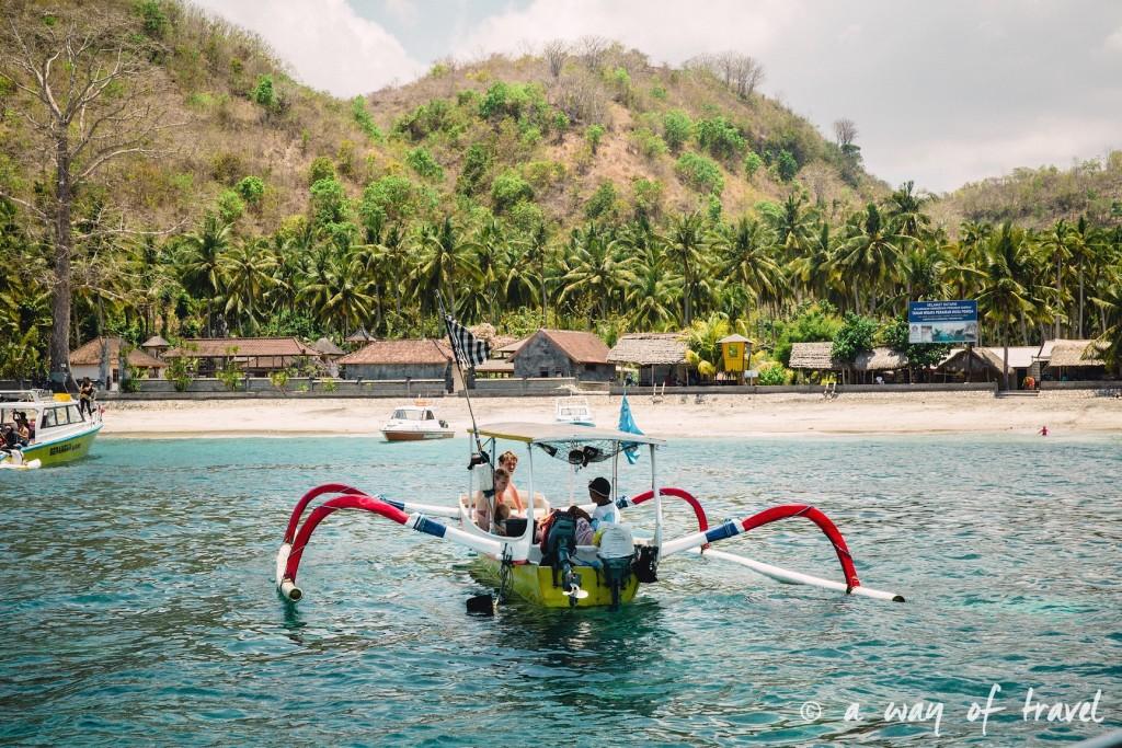 Visit Bali Indonesie Nasi Lembongan bateau pecheur