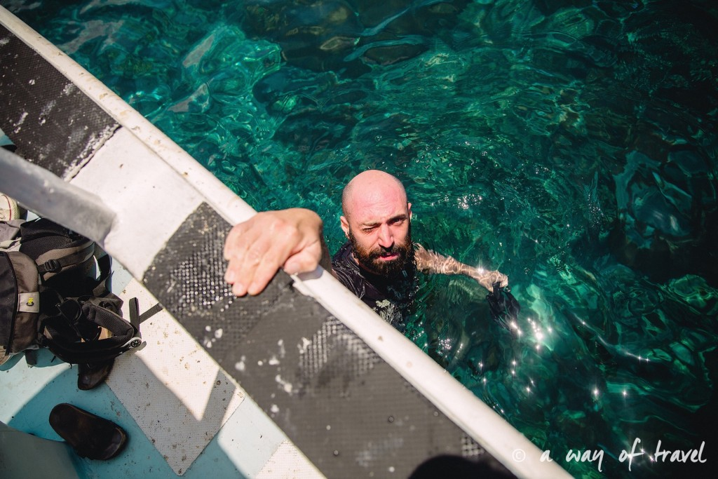 Visit Bali Indonesie Nasi Lembongan bateau snorkeling
