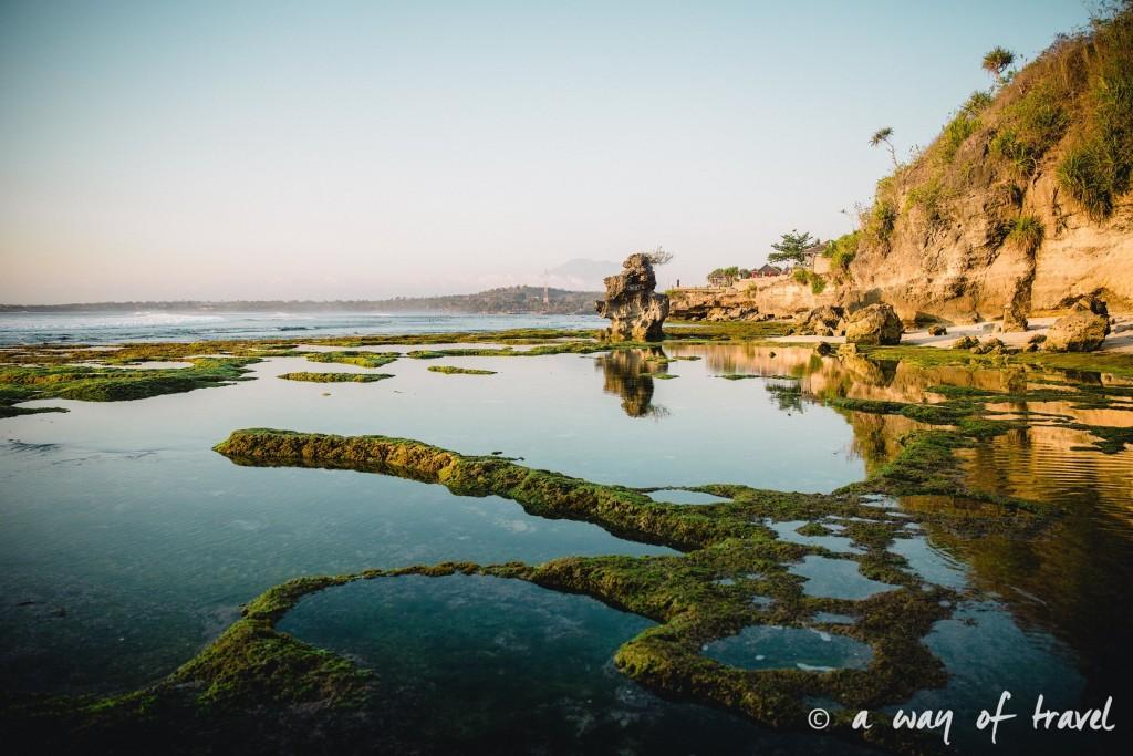 Visit Bali Indonesie Nasi Lembongan beach plage secret point