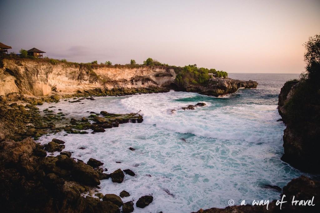 Visit Bali Indonesie Nasi Lembongan blue lagon sunset