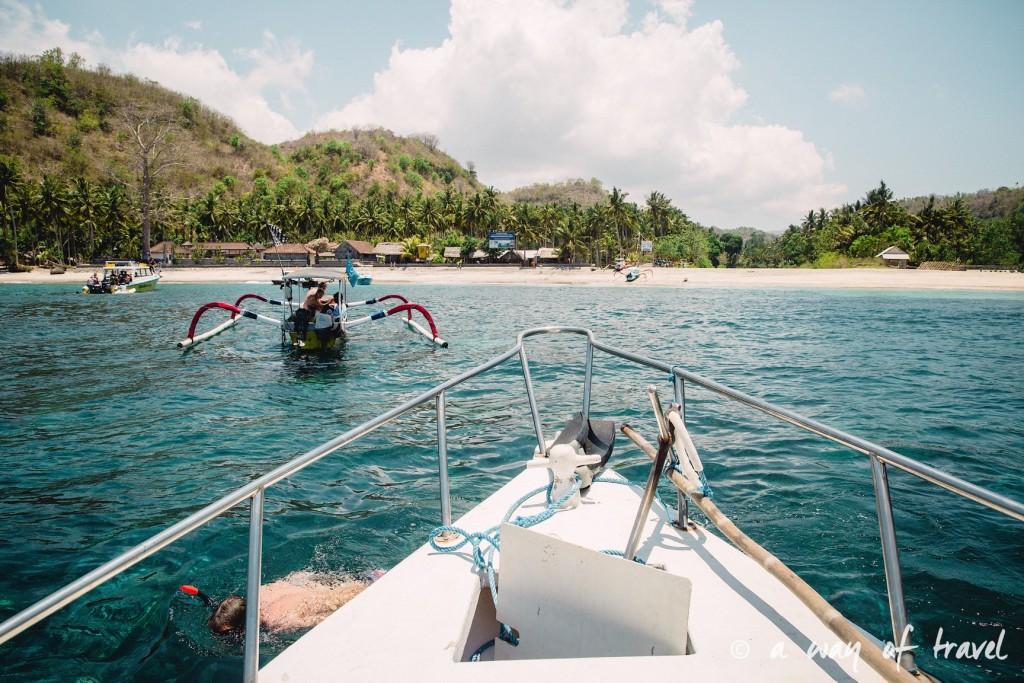 Visit Bali Indonesie Nasi Lembongan boat