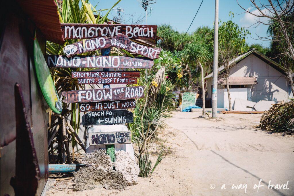 Visit Bali Indonesie Nasi Lembongan mangrove beach 2
