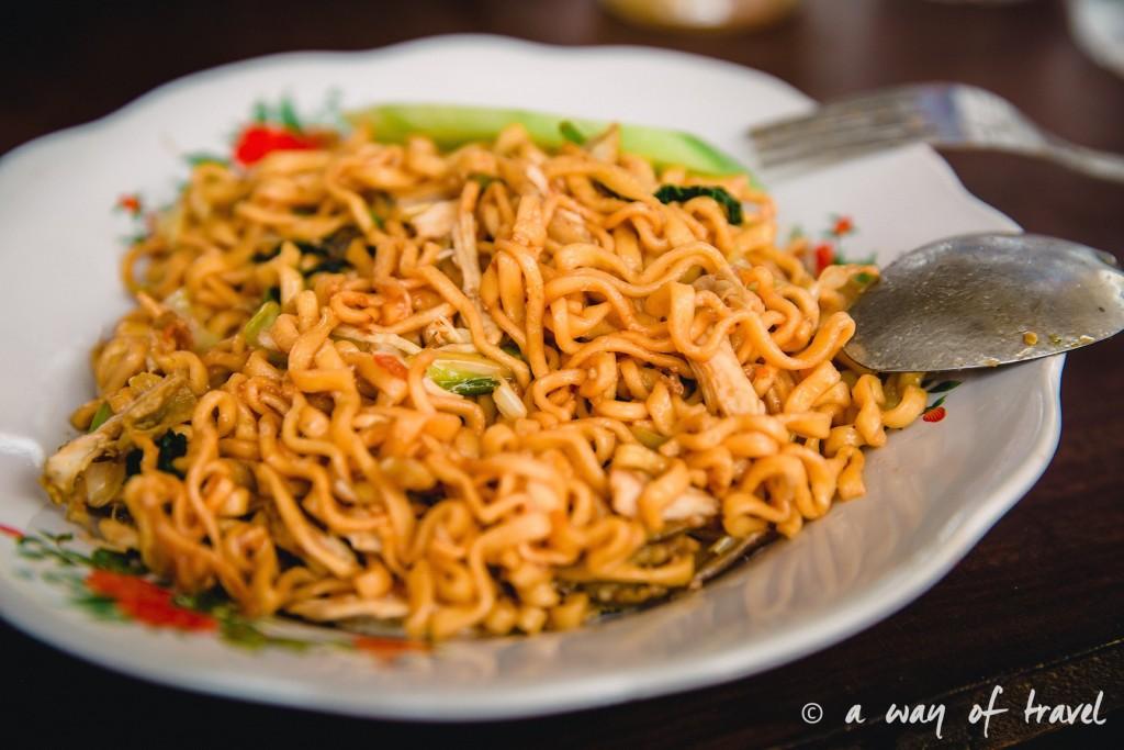Visit Bali Indonesie Nasi Lembongan mie goreng