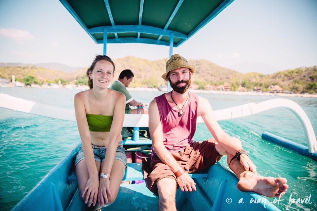 Visit Bali Indonesie Nasi Lembongan padang bay shuttle