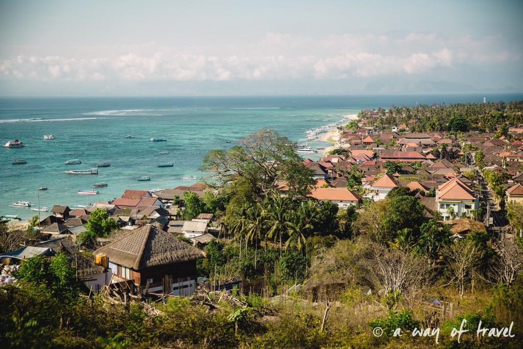 Visit Bali Indonesie Nasi Lembongan panorama point