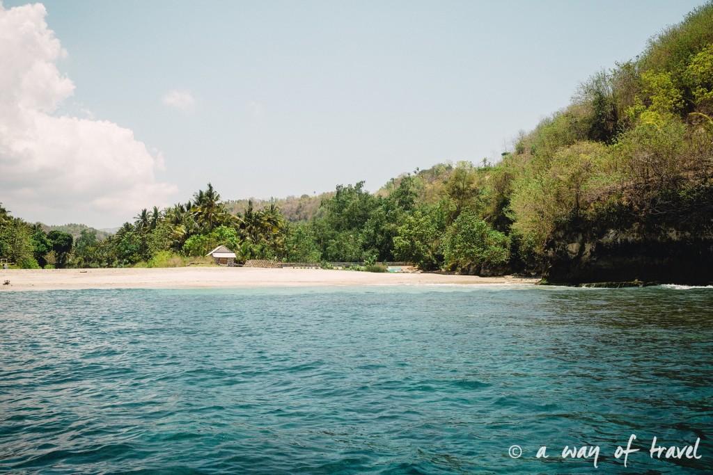 Visit Bali Indonesie Nasi Lembongan plage
