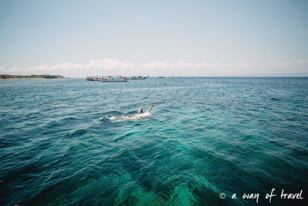 Visit Bali Indonesie Nasi Lembongan plongée snorkeling